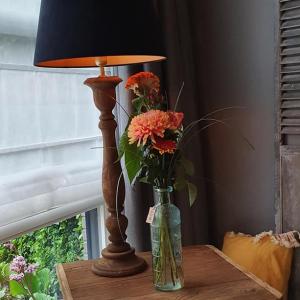 Balusterlamp bruin 70 cm Benard's Woonaccessoires