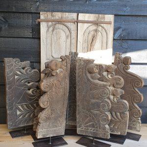 Ornamenten Aura Peeperkornstijl op voet bij Benard's Woonaccessoires