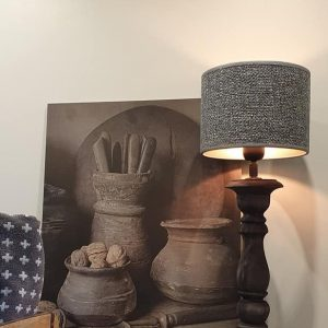 Schilderspaneel keukenpotten voor in een landelijke keuken of interieur | Benard's Woonaccessoires
