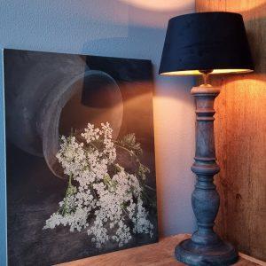 Schilderpaneel fluitekruid voor een landelijk interieur Benard's Woonaccessoires