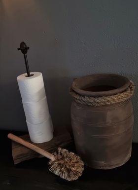 Frans Eiken Wagonplank Toiletpapier voorraadhouder - Bij Benard's Woonaccessoires