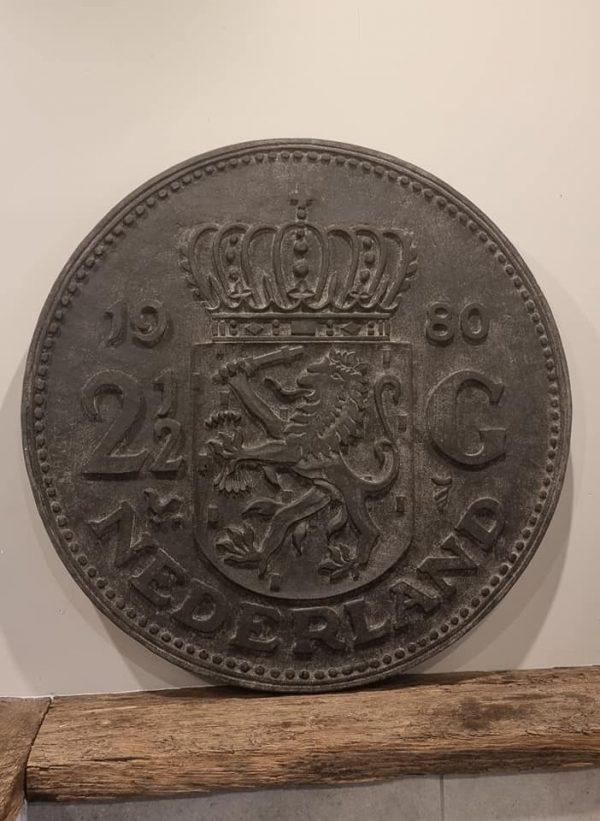 Oud Hollandse rijksdaalder, jaartal 1980 | Benard's Woonaccessoires